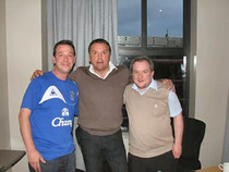 Graeme Sharp with some ESCNI members